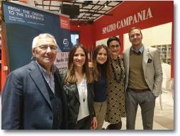 """??  ?? Le imprese a """"Spazio Campania"""" insieme con il presidente Andrea Prete"""