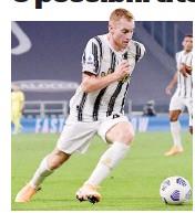 ?? GETTY ?? Dejan Kulusevski, 20 anni, un gol in bianconero