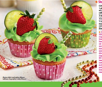 Strawberry Margarita Cupcakes Pressreader