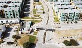 ??  ?? Villa Serena, exitoso proyecto que ha cambiado la entrada de Soledad, e impactado todo el casco viejo del municipio con 1.500 apartamentos.