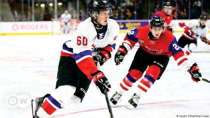 ??  ?? Luke Prokop (left) could make his debut in the National Hockey League as soon as this fall