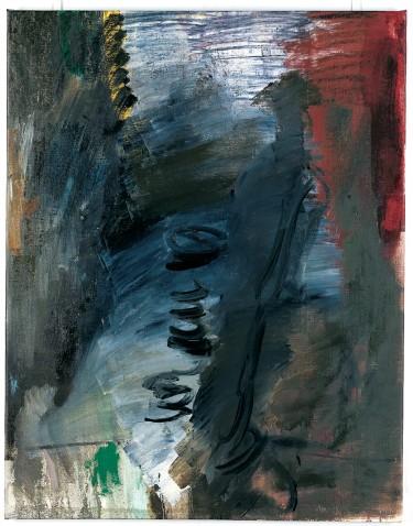 ??  ?? « Pride of Science ». 1982. Huile sur toile. 130 x 100 cm. (Coll. Frac Grand Large - Hauts-de-France. © Per Kirkeby ; Ph. Muriel Anses). Oil on canvas