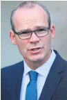 ??  ?? The Republic's Foreign Minister Simon Coveney