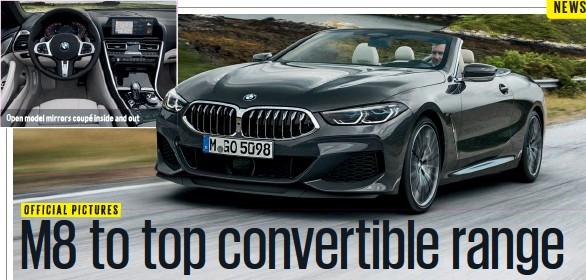 Pressreader Autocar 2018 11 07 Bmw M8 Convertible