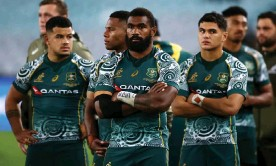 ?? Photograph: Cameron Spencer/Getty Images ?? A Fijian rugby official has already stated he is looking forward to the day when the likes of Wallabies winger Marika Koroibete is playing for Fiji.