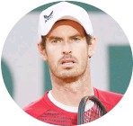 ??  ?? Andy Murray