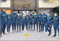 ?? CORTESÍA ?? Selección. El equipo sénior viajó a México la madrugada de ayer, desde Guayaquil.