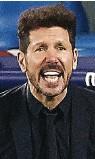 ??  ?? STRATEGI IDENTIK: Entrenador ATM Diego Simeone dan tactician Chelsea Thomas Tuchel sama-sama mengusung skema tiga bek.