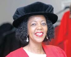 ??  ?? UKZN Honorary Doctorate in Economics recipient, Dr Judy Dlamini.