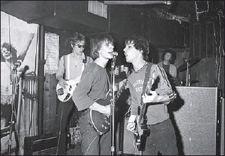 """?? Richard E. Aaron Redferns ?? TELEVISION'S """"Little Johnny Jewel"""" is on a new CD set of songs recorded in the mid-'70s, """"Ork Records: New York, New York."""" Above, the band performs at CBGB in New York in 1975."""
