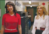 """?? NETFLIX ?? Katherine Heigl, left, and Sarah Clarke star as best friends in the comedy-drama series """"Firefly Lane."""""""