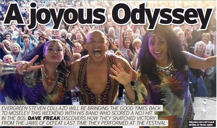 ??  ?? Odyssey are set to put smiles on faces again