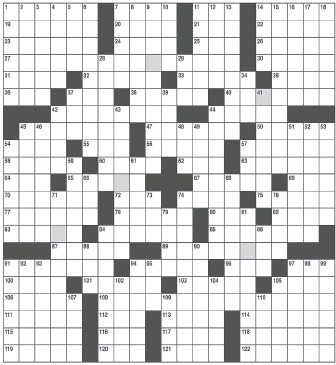 radio times crossword answers