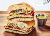 ??  ?? Sample authentic Mexican eats like this Crispy Chicken Milanesa by Chef Rick Bayless, an expert in south-of-the-border cuisine.