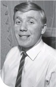 ??  ?? Sammy Henderson in 1964 during his time with Celtic