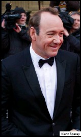 ??  ?? Kevin Spacey