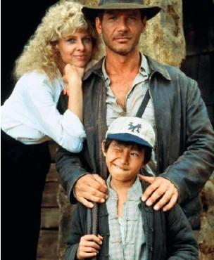 ??  ?? In 1984, Short Run in Indiana Jones and The Temple of Doom