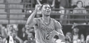 ?? RAYMOND CARLIN III/ USA TODAY SPORTS ?? Baylor, with guard Jared Butler, is projected as one of the 1 seeds for the NCAA Tournament in USA TODAY Sports' bracketolo­gy.