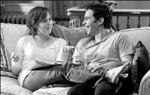 """?? By Jonathan Wenk, Columbia Pictures ?? """"Rom-com version"""" of her life: Amy Adams and Chris Messina played Julie and Eric Powell in the movie adaptation of Julia & Julia. Powell's new book reveals unexpected personal details of her marriage."""