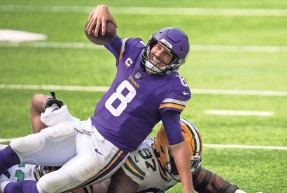 ?? BRAD REMPEL/USA TODAY SPORTS ?? QB Kirk Cousins and the Vikings are 0-2 for the first time under Mike Zimmer.