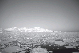 """?? JOHAN ORDONEZ/AGENCE FRANCE-PRESSE/GETTY IMAGES ?? Two new studies make different predictions about melting Antarctic ice's impact on sea levels. One scientist says, """"They show there is still large uncertainty . . . and uncertainty is not our friend here."""""""