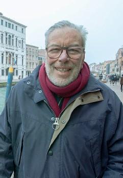 ??  ?? Divulgazione Danilo Mainardi a Venezia (Errebì)