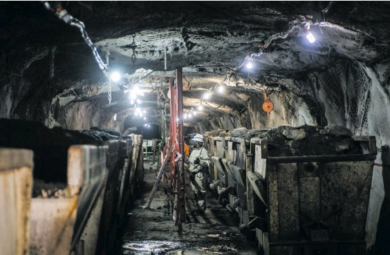 ?? Photo: Waldo Swiegers/Bloomberg/Getty Images ?? In July, production growth in the mining sector slowed to 10.3%.