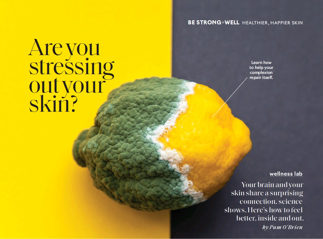 ??  ?? Learn how to help your complexion repair itself.