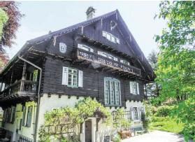 ?? BILD: SN/PRIVAT ?? Das Bundesdenkmalamt will den historischen Wispelhof in Werfen aus den 1920er-Jahren unter Schutz stellen.