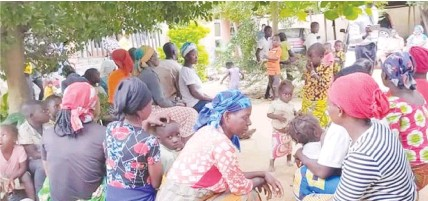 ??  ?? A cross section of the IDPs