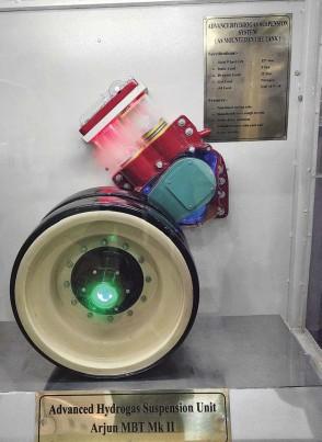 ??  ?? Advanced Hydrogas Suspension Unit (HSU)
