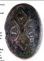 ??  ?? Isotope analysis has revealed that this brooch – found in a grave at Adwick-le-Street, near Doncaster – was worn by a woman raised in Norway in the ninth century