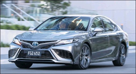 ??  ?? UPDATE: Toyota Camry has revealed pricing and full specs for its mid-life sedan facelift.