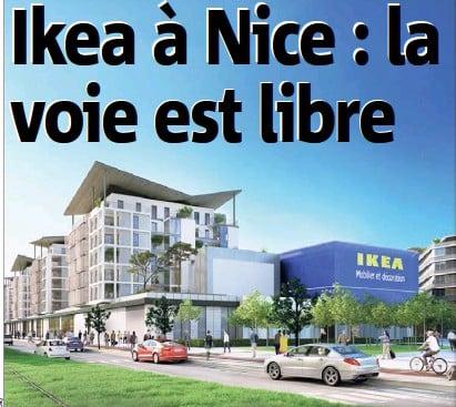 29.03.2018: Ikea à Nice : la voie est libre
