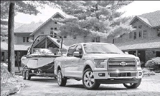 """?? Ford ?? FORD'S """"Limited"""" version of the F-150 pickup will probably be priced north of $60,000."""