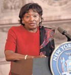 """?? HANS PENNINK/AP ?? New York state Senate Majority Leader Andrea Stewart-Cousins wants a """"truly independent investigation"""" into allegations against Gov. Cuomo."""