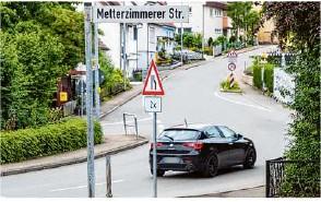 ?? Foto: Helmut Pangerl ?? Die zweite Regiorad-Station für Sachsenheim kommt nun nach Kleinsachsenheim, und nicht in den Eichwald.