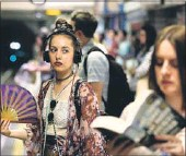 ?? REUTERS FILE ?? Researchers analysed how gossip or disease spreads through London's transit network.