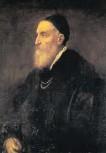 ??  ?? Tiziano Vecellio, gen. Tizian: Selbstbildnis von 1570, Prado Madrid.
