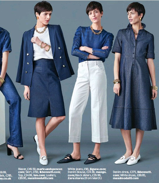 f464a085728 PressReader - Daily Mail  2018-02-19 - Denim so smart you can wear ...