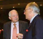 ??  ?? AMBASSADOR Robert Brinks of Netherlands and Ambassador Luca Fornari of Italy