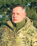 ??  ?? Vyacheslav Vlasenko is commander of the 46th Battalion, formed out of the former volunteer Donbas Battalion. (Courtesy)