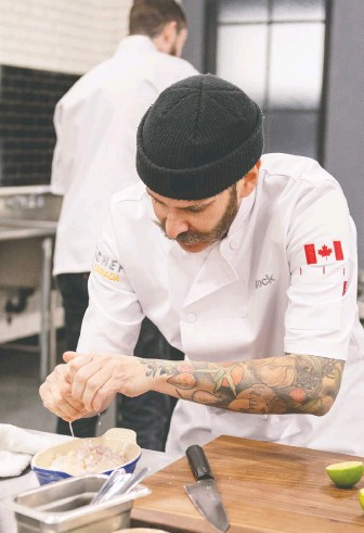 ??  ?? Kelowna-based chef Brock Bowes says that supporting local establishments is the best way to help the industry.