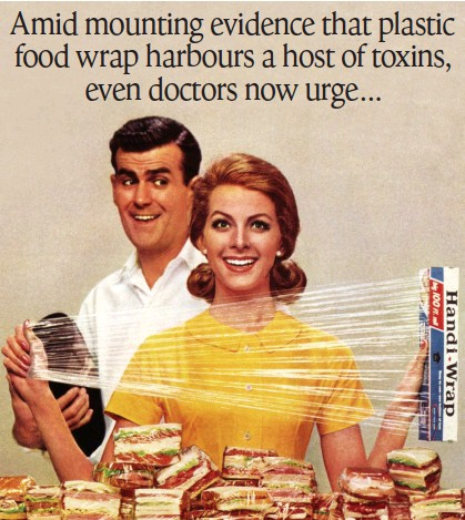 ??  ?? KITCHEN STAPLE: But scientists say that cling film should not come into contact with food while it's being reheated