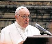 ??  ?? El papa Francisco visitará Irak desde el próximo viernes. Las medidas de seguridad son extremas.
