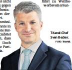 ?? FOTO: TRIANEL ?? Trianel-Chef Sven Becker.