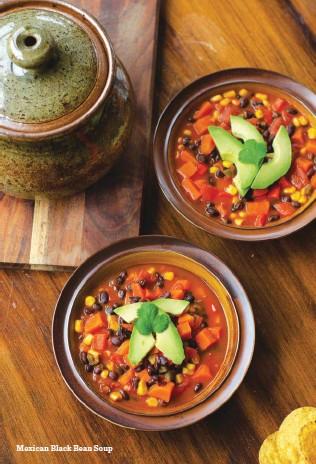 ??  ?? Mexican Black Bean Soup