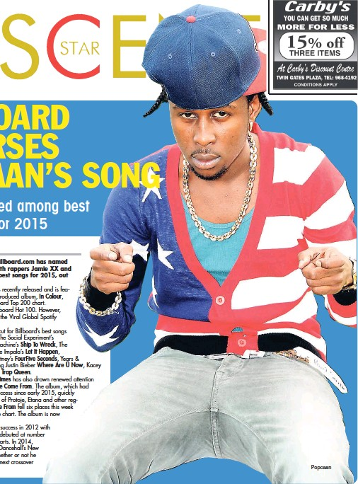Billboard Hot Featuring Popcaan | Asdela