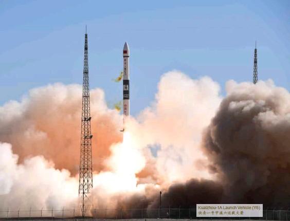??  ?? Kuaizhou-1A Launch Vehicle (Y6)快舟一号甲遥六运载火箭