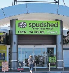 ??  ?? Spudshed at Stirling Central.